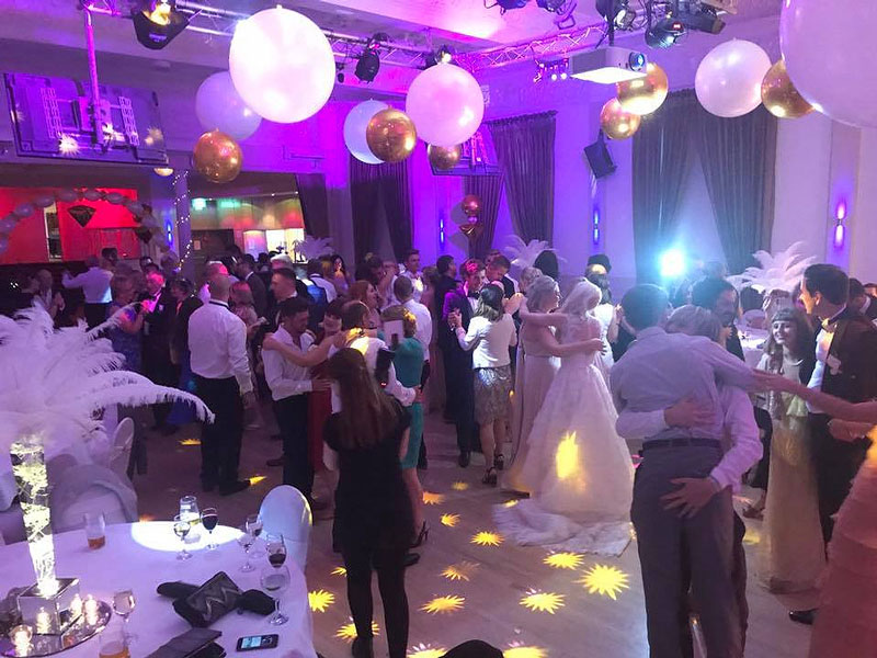 ydjb wedding party harrogate