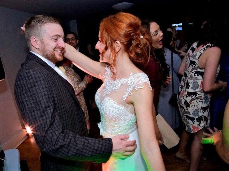 ydjb wedding couple dancing