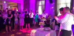 ydjb wedding cutting the cake