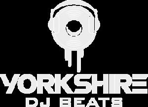 Yorkshire DJ Beats White Logo