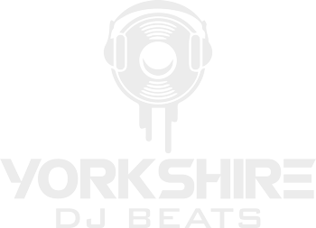 Yorkshire DJ Beats White Logo